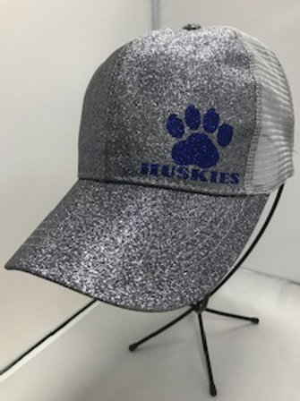 Glitter High Pony Trucker Hat