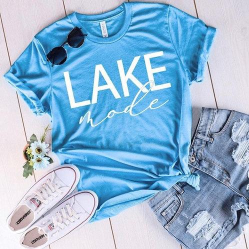 Lake Mode Blue Tee