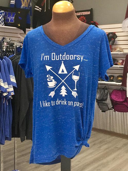 I'm Outdoorsy Tee