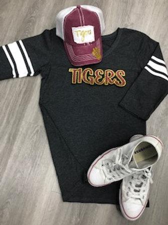 Tigers 3/4 Sleeve