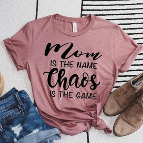 Mom is the Name Tee
