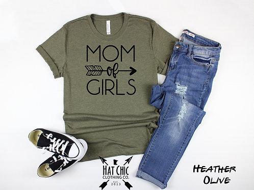 Mom of Girls Tee