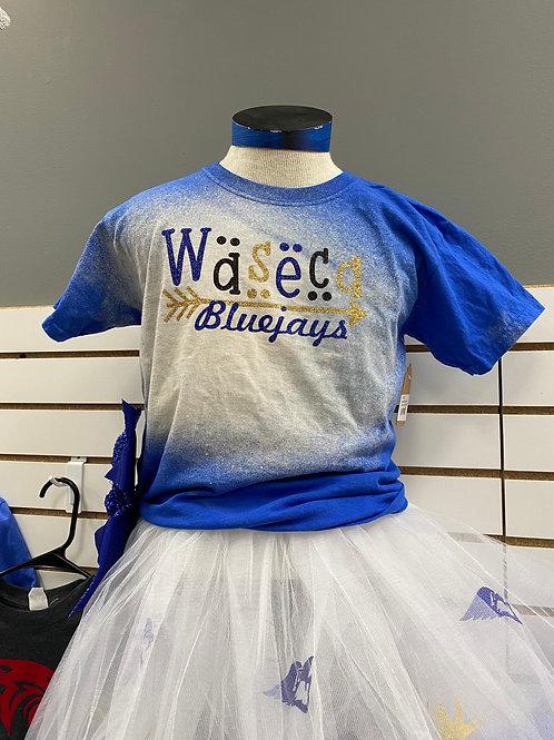 Waseca Bluejays Bleach Shirt