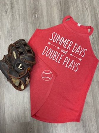 Summer Days and Double Plays Tank