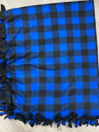 Plaid Tie Blanket