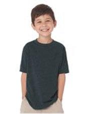 Youth Charcoal Gray Tee Shirt