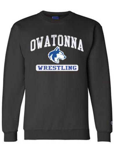 Owatonna Wrestling Crewneck Sweatshirt