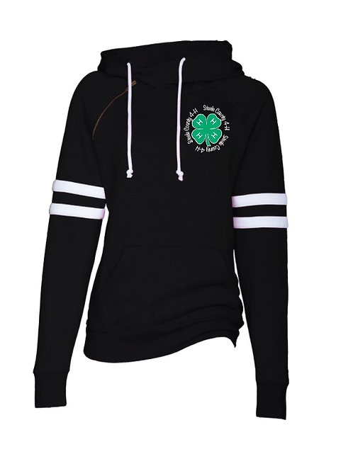 4H Double Hooded Sweatshirt