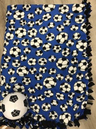 Soccer Tie Blanket