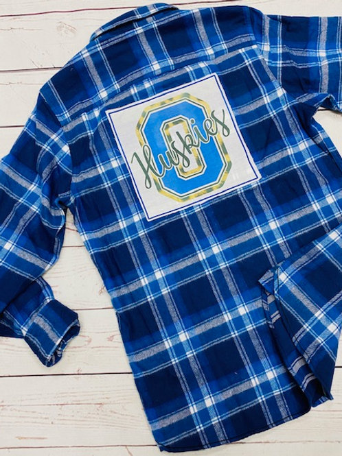 Huskies Flannel