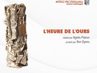 Agnès Patron remporte le César du meilleur court-métrage d'animation