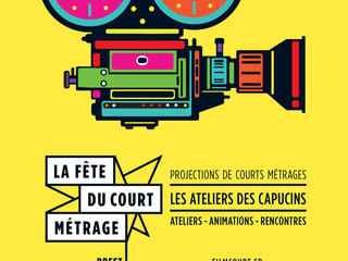 Fête du Court métrage à Brest : Rencontres avec Bulle Tronel