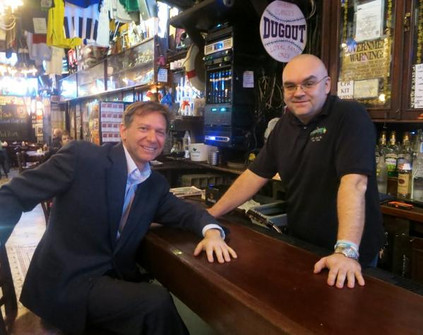 Pete Caldera with Shaun Clancy
