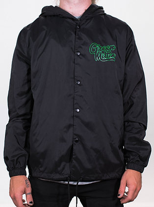 GREEN MITTEN BLACK & GREEN WINDBREAKER