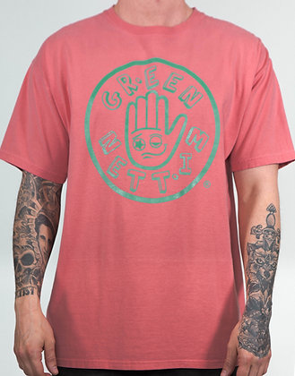 GREEN MITTEN CLASSIC CORAL TEE