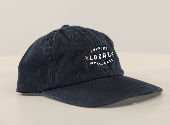 SUPPORT LOCAL HAT: NAVY BLUE
