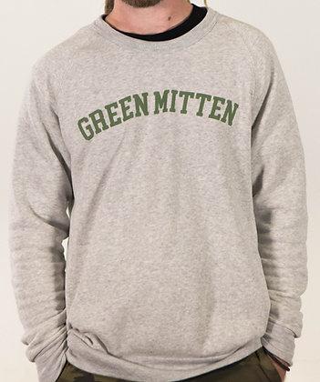 GREEN MITTEN GREY CREW