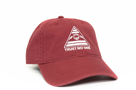 TRUST NO ONE CARDINAL DAD HAT