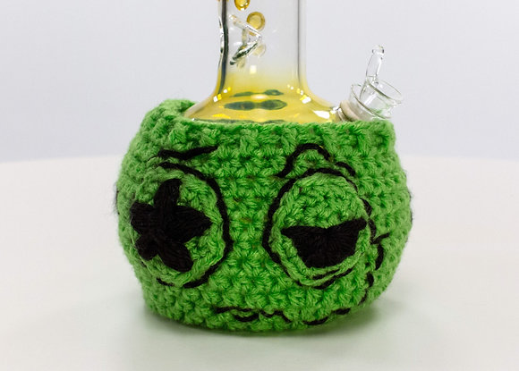 GREEN MITTEN BONG SWEATER