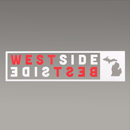 WESTSIDE BESTSIDE WIDOW DECAL