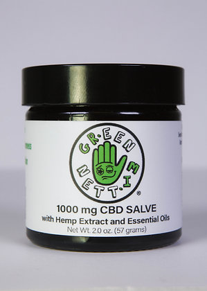 GREEN MITTEN FULL SPECTRUM 1000MG SALVE