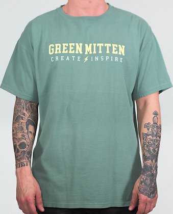 CREATE & INSPIRE CYPRESS GREEN TEE