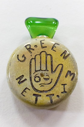 GREEN MITTEN PENDANT