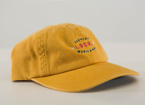SUPPORT LOCAL HAT: MUSTARD