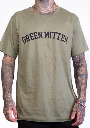 GREEN MITTEN MILITARY TEE