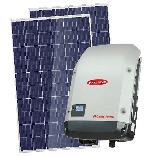 6.6 Kw Solar Power System with 5Kw Fronious Primo inverter