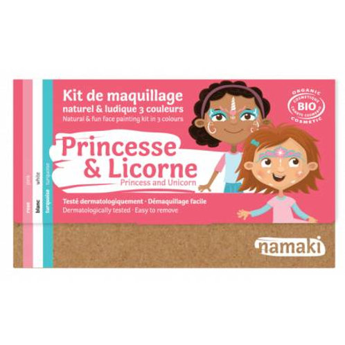 kit 3 couleurs princesse & licorne