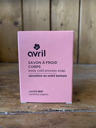 Savon à froid corps - AVRIL