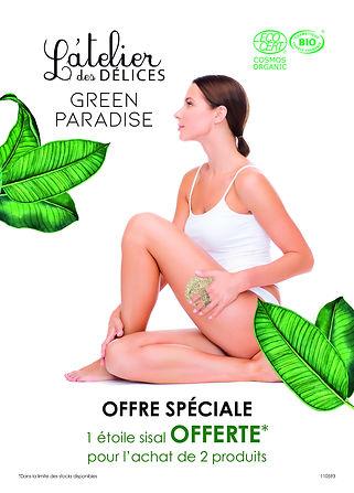 l'atelier des delices, soins bio, green paradise, institut bio,vegan, cannes