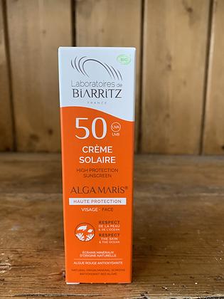 Crème solaire SPF50 - 50ml - LABORATOIRE DE BIARRITZ