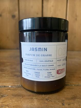bougie végétal JASMIN