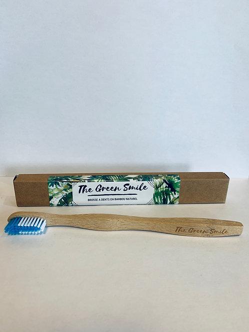 brosse à dents adulte bleu