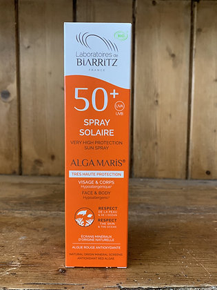 Spray solaire SPF50 - 100ml - LABORATOIRE DE BIARRITZ