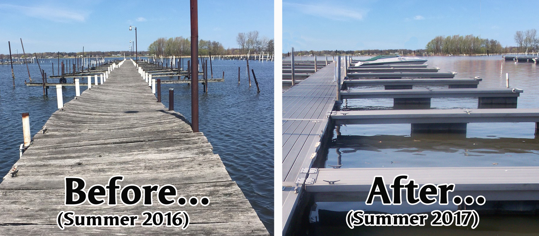 New Aluminum Floating Docks