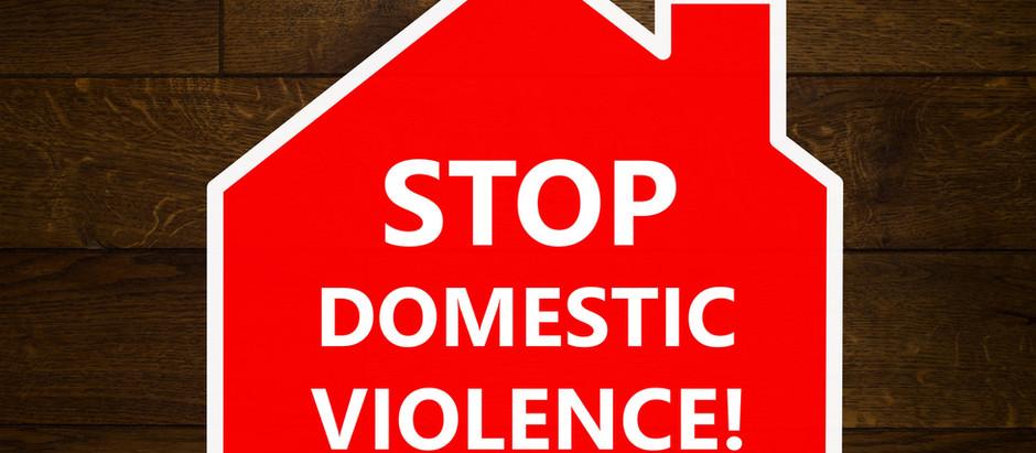 ¿Victima de violencia en el hogar? ¡Protejase!