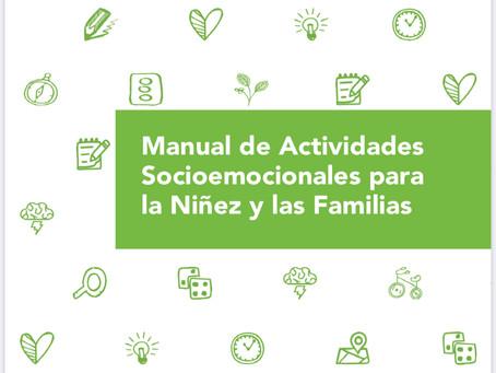 Manual de Actividades Socioemocionales para la Niñez y las Familias