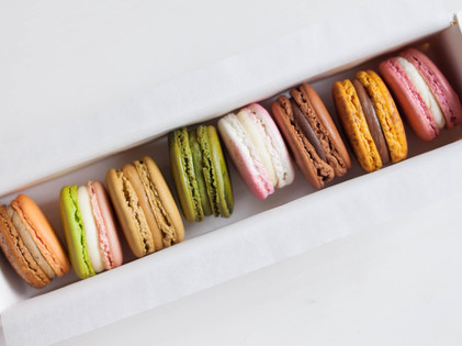 Assorted Macarons - Box of 8