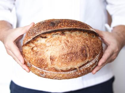 Chef Chiak - Sourdough Loaf