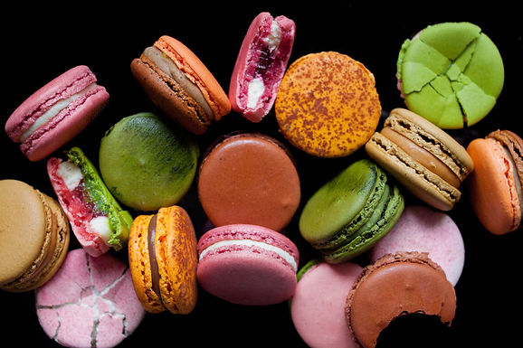 [Customised] Box of 8 Macarons