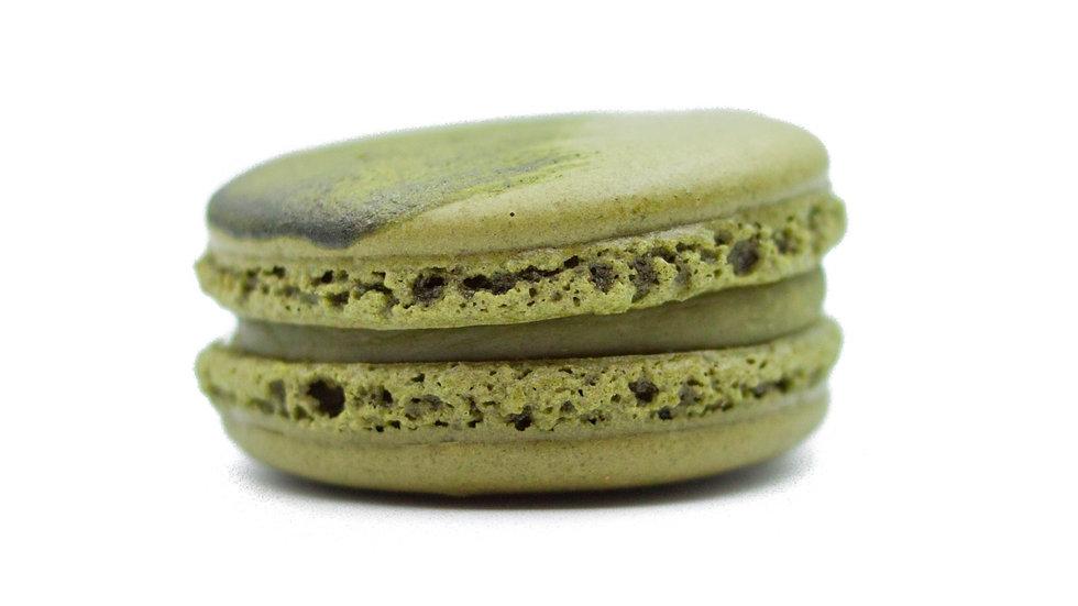 [Box of 8] Intense Matcha Macarons