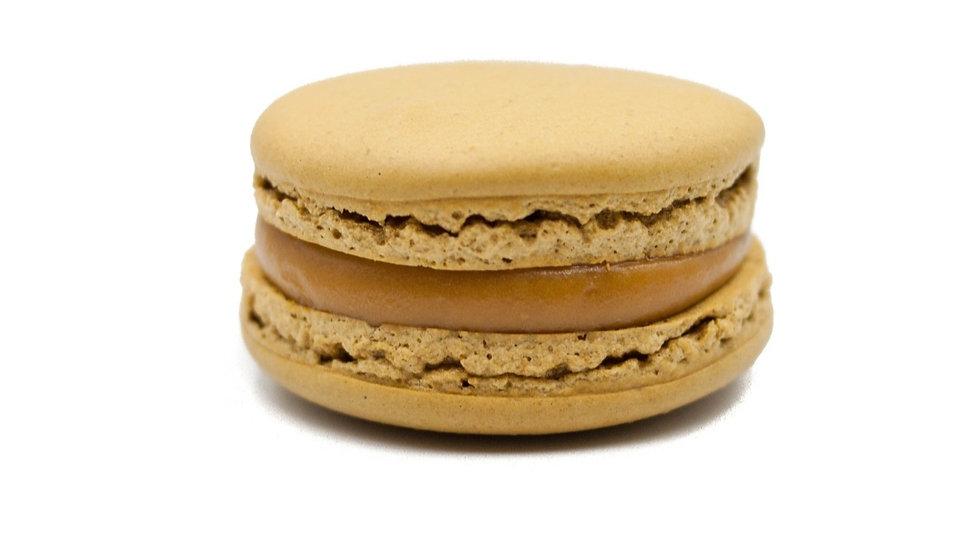 [Box of 8] Salted Butter-Caramel Macarons