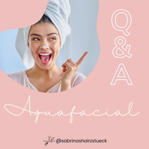 Aquafacial FAQ