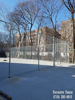Chain Link Fence by Forrester Fence Co. (718) 385-4915