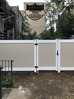 PVC Fence by Forrester Fence Co. (718) 385-4915