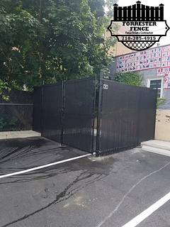 Dumpster Enclosure by Forrester Fence Co. (718) 385-4915