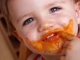 toddler messy eating